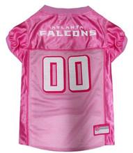 pink falcons jersey
