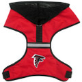 NFL Officially Licensed Atlanta Falcons Football Reflective Harness for Pets (In-Stock)