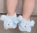 Plush Blue Baby Puppy Booties