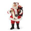 Rebel Santa decked out in his Buckles & Fringe Harley Davidson