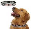 Officially Licensed Miami Marlins MLB Classic Reflective Nylon Dog Collar