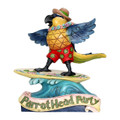 Margaritaville Surfing Parrot - Parrot Head Party by Jim Shore Figurine