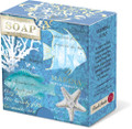 Set of 2 Deep Sea Wonders Paper-Wrapped Boxed Verbena Soaps