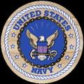 Set of 4 U S Navy Sandstone Coasters
