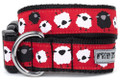 Counting Sheep Premium Dog Collar by Worthy Dog