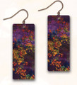 Hypo-allergenic Antiqued Copper ME12CE Abstract Earrings by Illustrated Light / DC Designs
