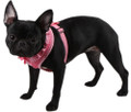 Adjustable Vivien Harness A in Pink w Ruffles by Pinkaholic® New York Puppia