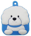 Love Your Breed Bichon Soft Key Cover by Fou Fou