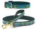 Kendall Plaid Preppy Dog Premium Ribbon Collar or Leash by Up Country