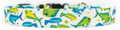 Colorful Mahi Mahi - Dolphinfish - Dorado Machine Washable Premium Dog Collar