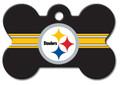 ID Tag for Pets - Pittsburgh Steelers - Bone Shape