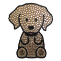 Love Your Breed Golden Retriever Rhinestone Bling Sticker