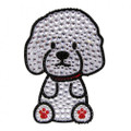 Love Your Breed Bichon Rhinestone Bling Sticker