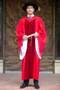 York University , Doctorate Gown. Image 1