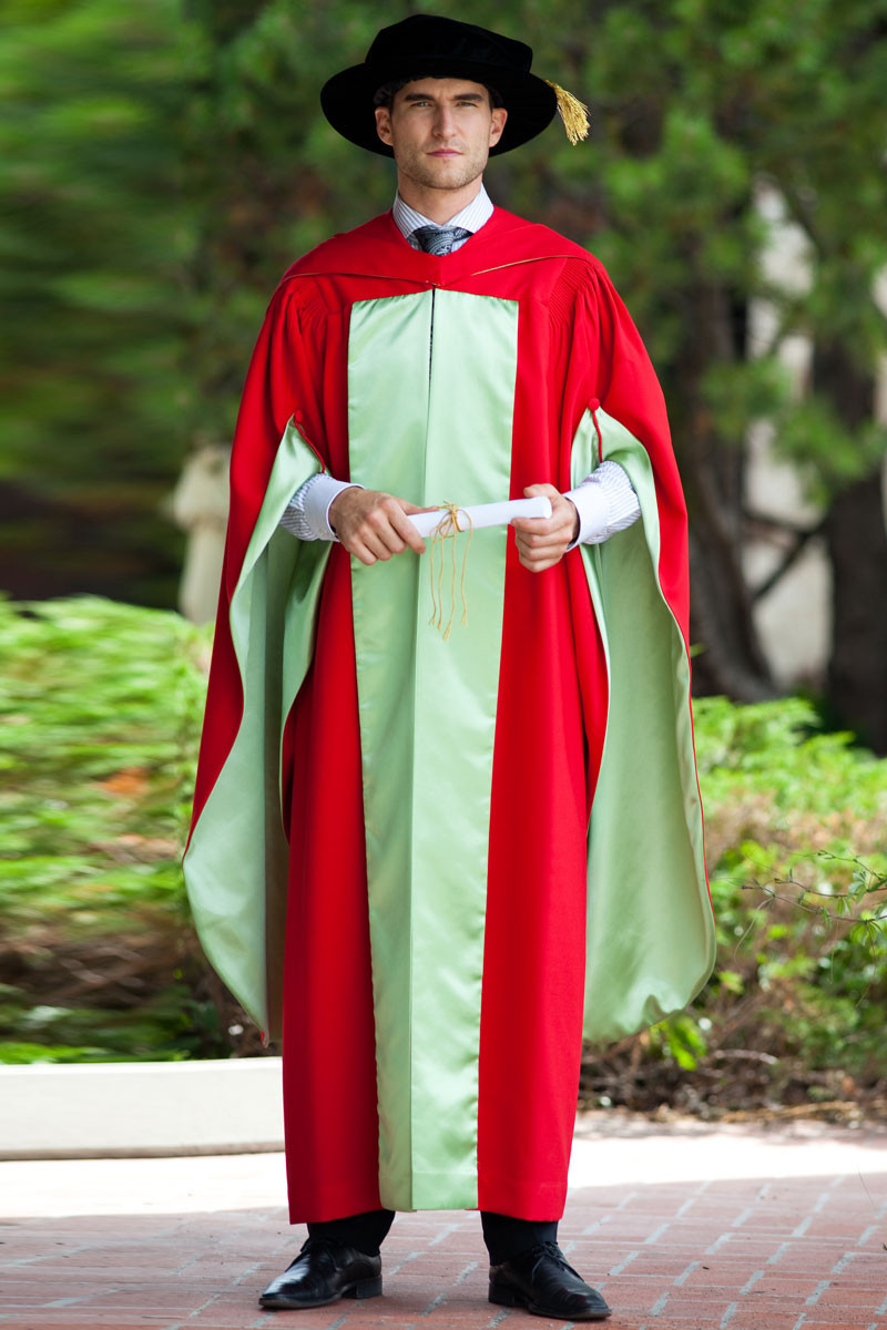 Mcgill University Doctorate Gown Gaspard Online Store