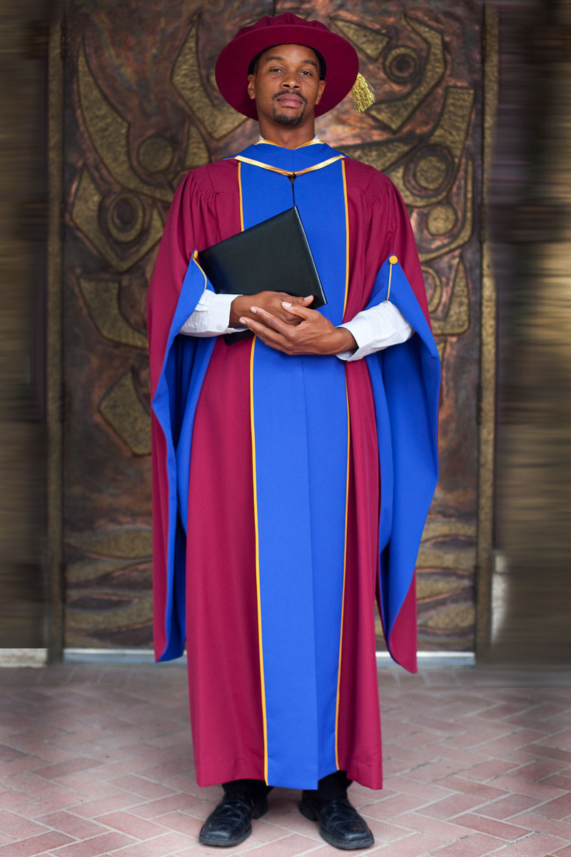 University Of British Columbia Doctorate Gown Gaspard