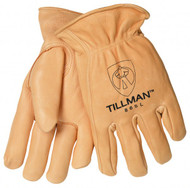 Tillman Deerskin Gold Gloves - Large (865)