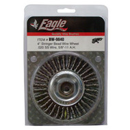 "Eagle 4"" Stringer Bead Wheel (Stainless Steel) -BW9840"