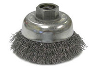 "Eagle 2-3/4"" Crimped Wire Cup Brush - BW320"