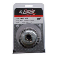 "Eagle 2-3/4"" Knot Wire Cup Brush - BW420"