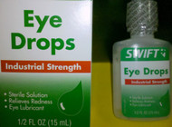 Swift Eye Drops Industrial Strength