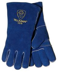 Tillman Cowhide Stick Welding Gloves - Blue Mules (1018)