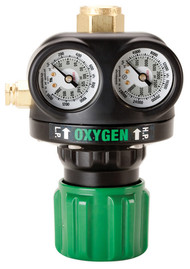 Victor Edge Series ESS3 Medium Duty Regulator - Oxygen (0781-5100)