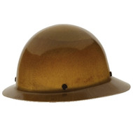 MSA Skullguard Full Brim Tan Hard Hat w/Fas-Trac Suspension (475407)
