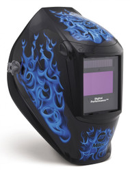 Miller Digital Performance Helmet - Blue Rage (256164)