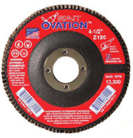 "SAIT 78045 Ovation Flap Disc (7"" x 7/8"" x 36 grit)"