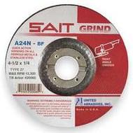 """SAIT Angle Grinding Disc 4-1/2"""" x 1/4"""" x 7/8"""" (20060)"""
