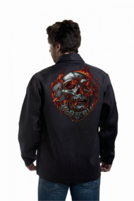 Tillman Weld or Die Onyx FR Black Jacket (9062)