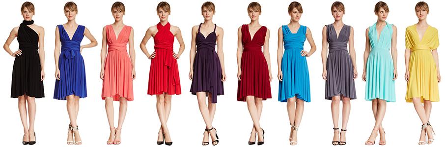 Convertible Wrap Dress