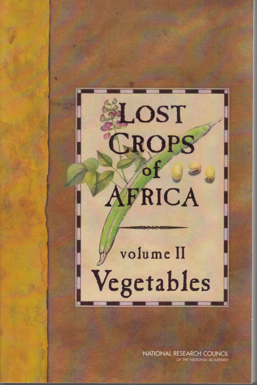Lost Crops of Africa, Volume II. Vegetables