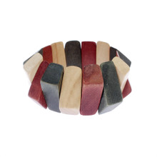 Triangular Wood Bracelet