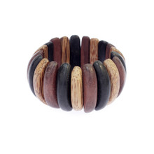 Wood Segments Bracelet