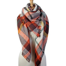 Large Tartan Big Warm Blanket Scarf Wrap Shawl