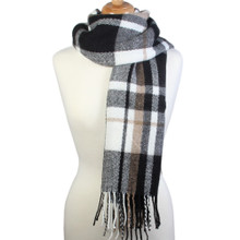 Large Plaid Big Warm Blanket Scarf Wrap Shawl