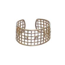 Gold Mesh Cuff Bracelet