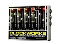 Electro-Harmonix CLOCKWORKS Rhythm/Generator/Synthesizer 18DC-500 PSU Included