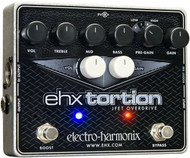 Electro-Harmonix EHX TORTION  JFET overdrive/preamp  9.6DC-200 PSU included