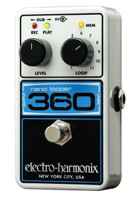 Electro-Harmonix 360 NANO LOOPER Compact Looper  9.6DC-200 PSU Included