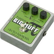 Electro-Harmonix BASS BIG MUFF PI Distortion/Sustainer  Battery inc, 9.6DC-200 PSU optional