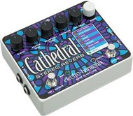 Electro-Harmonix CATHEDRAL Deluxe Stereo Reverb  9.6DC-200 PSU included