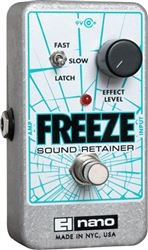 Electro-Harmonix FREEZE  Infinite Sustain Pedal  9.6DC-200 PSU Included