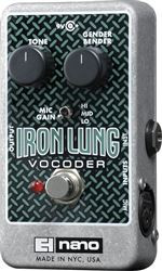 Electro-Harmonix IRON LUNG Vocoder  9.6DC-200 PSU Included