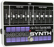 Electro-Harmonix MICROSYNTH Analog Guitar Synthesizer  9.6DC-200 PSU included