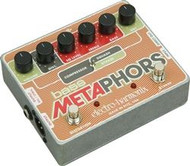 Electro-Harmonix BASS METAPHORS Preamp/EQ/Distortion/Compressor/DI Multi-Effect   9.6DC-200 PSU included