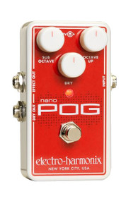 Electro-Harmonix NANO POG Polyphonic Octave Generator  9.6DC-200 PSU included