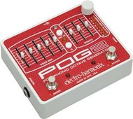 Electro-Harmonix POG2 Polyphonic Octave Generator  Advanced Algorithm  9.6DC-200 PSU included